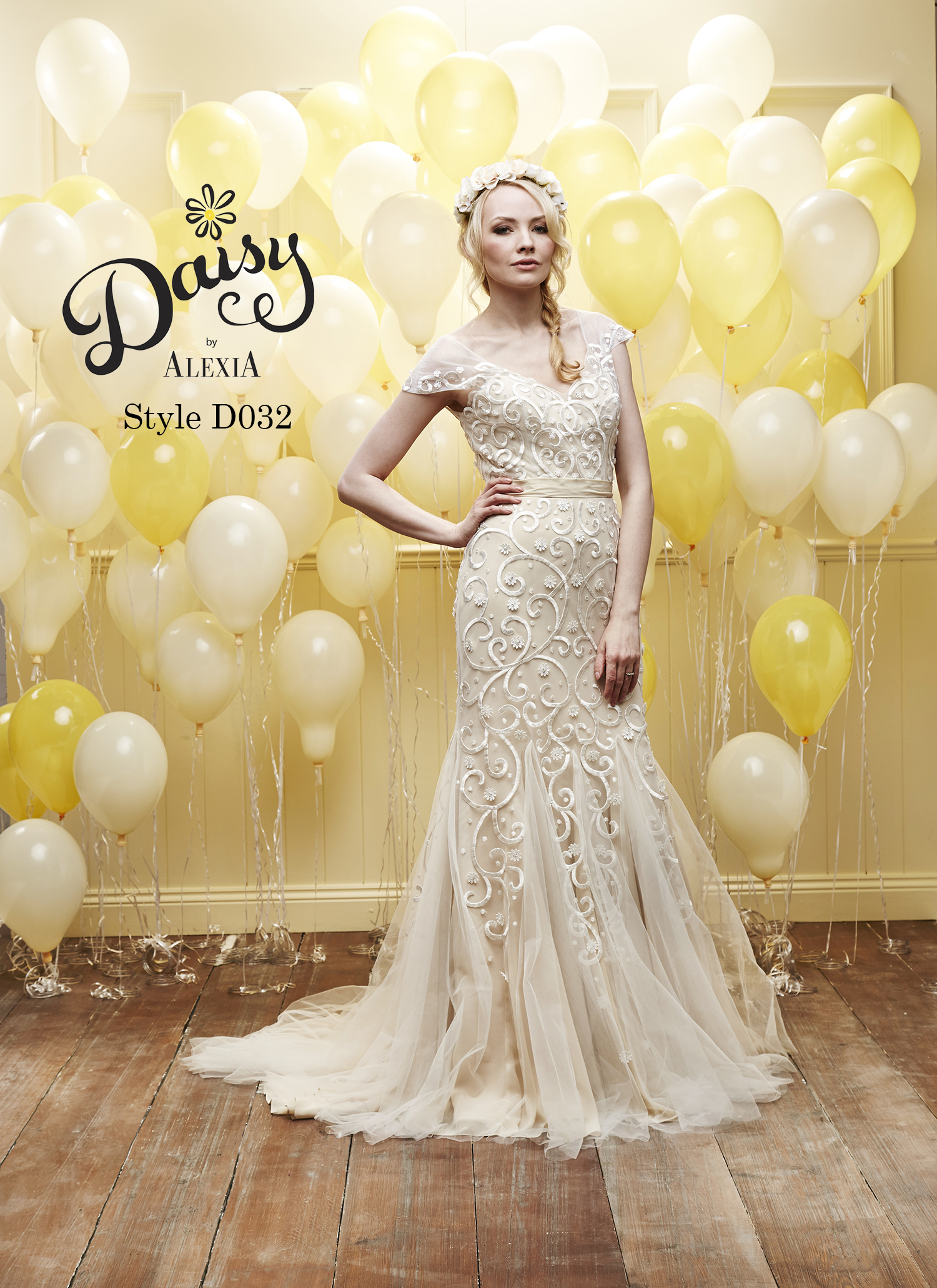 Daisy by Alexia Designs Collection Gallery – Champagne And Strawberries